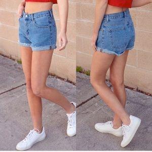Brandy Melville Jean Shorts High Waisted